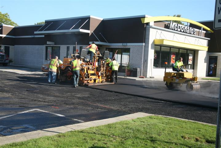 Paving A Commercial Parking Lot
