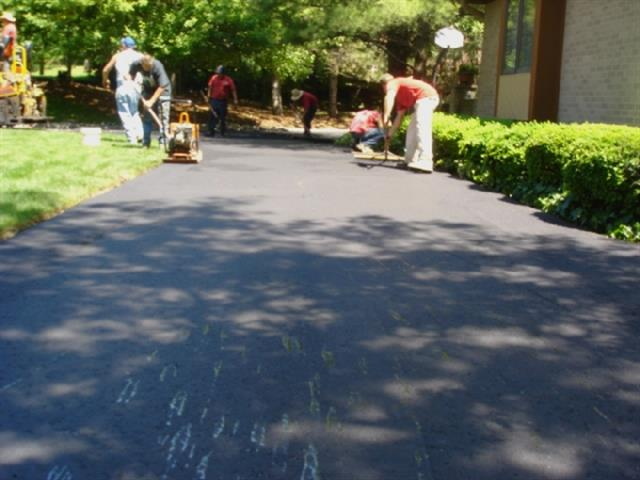 Finished Work- Asphalt Paving